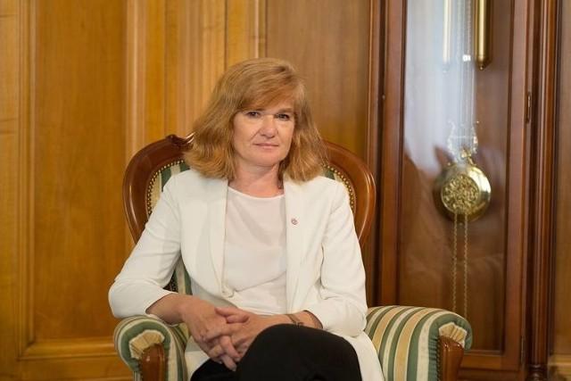 Prof. Elżbieta Żądzińska, rektor UŁ