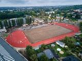 Łódź buduje Rudzki Klub Sportowy – czyli ostatnia prosta prac przy budowie nowoczesnej areny lekkoatletycznej. Zdjęcia