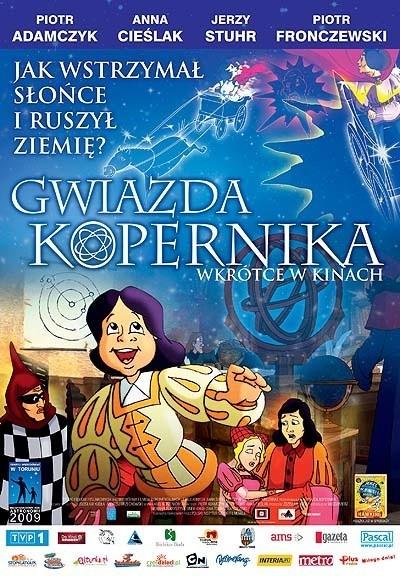 Animowana opowieść o Koperniku w Pułtusku