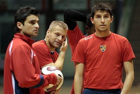Pierwszy trening Odry Opole w 2009 roku.