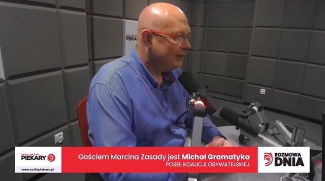 Michał Gramatyka, poseł Koalicji Obywatelskiej, dzisiejszy Gość DZ i Radia Piekary.