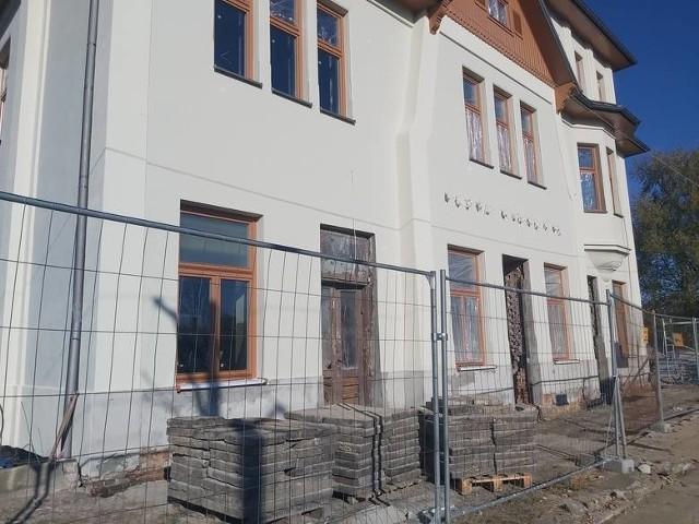 Trwa przebudowa dworca w Jastrzębiu.