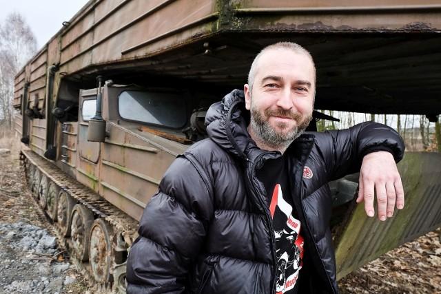 Wojciech Hernik kupił amfibie GPS-55. Będą na imprezie VI Podlaski Piknik Militarny Misja Wschód