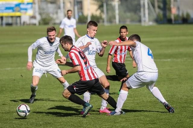 2015. Cracovia II i Unia Tarnów grały wtedy w III lidze