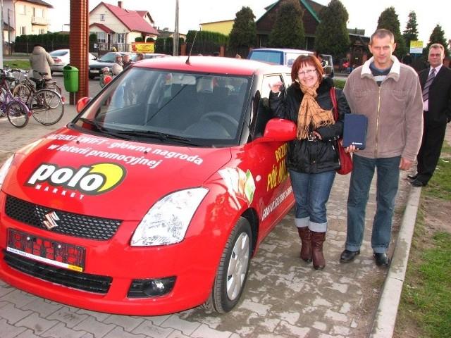 Anna Wilenska robiąc zakupy w sklepie wygrala samochód
