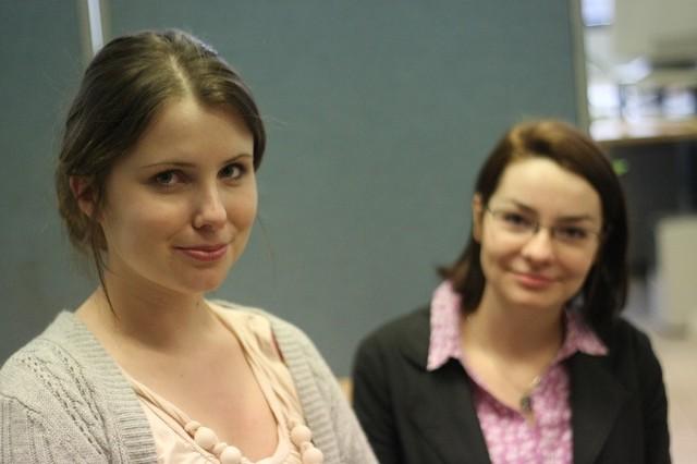 Doświadczenie zdobyte przy organizacji takich kursów przyda nam się w przyszłej pracy - mówią Ewa Piotrowska (z lewej) i Magdalena Stolarczyk