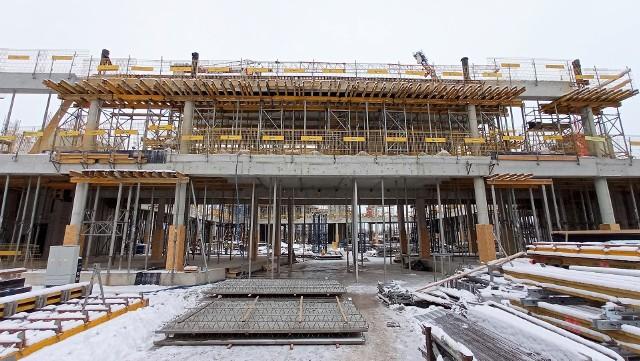 Centrum Usług Publicznych w Opolu - budowa