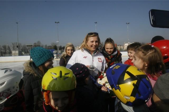 Natalia Czerwonka wróciła z Soczi do kraju