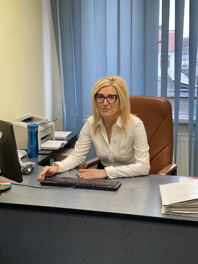 """Prokurator Ewa Wrzosek zapewnia, że poradzi sobie na """"delegacji"""" w Śremie. Jak mówiła, została świetnie przyjęta przez nowych kolegów i mieszkańców"""