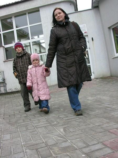 - Cieszę się, że w przyszłości Jula i Szymon będą mieli gimnazjum, tak jak podstawówkę, na miejscu - mówi Agata Poznańska.