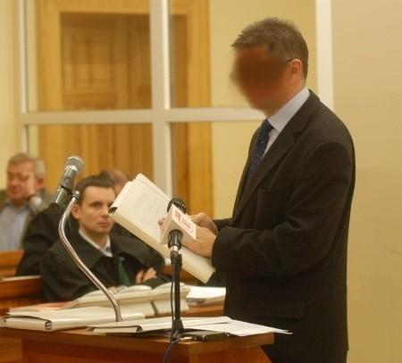 Janusz K. mówi w sądzie już 12 godzin.