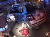 Bobin. Wypadek w powiecie proszowickim. Zderzyły się cztery pojazdy w tym tir. Pięć osób zostało poszkodowanych