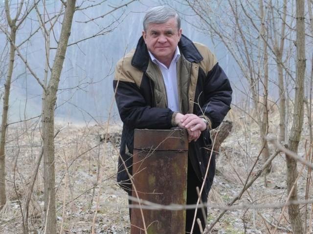 Tu na głębokości 600 m znajdują się bogate złoża wody mineralnej. - To one mogą zadecydować o przyszłości Łagowa - mówi wójt Ryszard Oleszkiewicz.