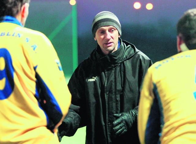 Modest Boguszewski, trener Motoru, liczy na trzy oczka