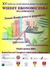 W sobotę poznamy w Białymstoku finalistów Ogólnopolskiej Olimpiady Wiedzy Ekonomicznej dla Dorosłych