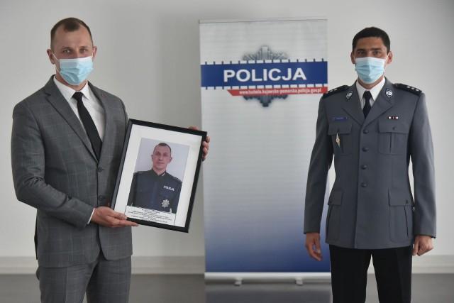 Bartosz Wiese pożegnał się z policyjnym mundurem
