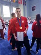 Mateusz Ciałowicz ze Słomnik brązowym medalistą mistrzostw Europy wushu sportowego [ZDJĘCIA]