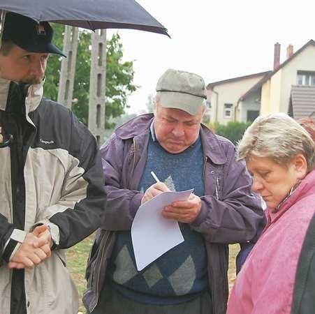 Mieszkańcy kilku ulic ostro zaprotestowali przeciwko nowej inwestycji. Mają nadzieję, że list z ich podpisami pomoże w rozwiązaniu sprawy