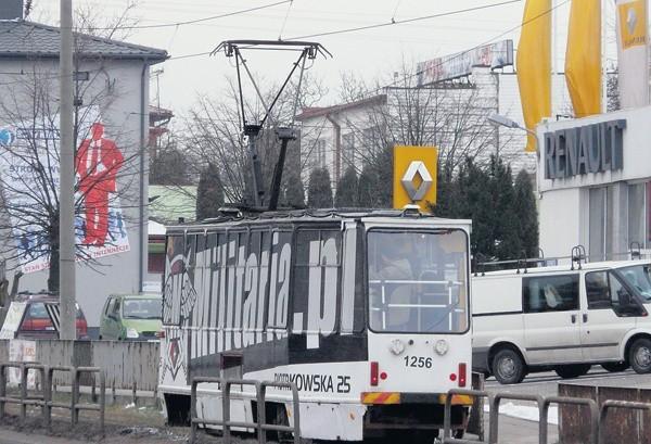 MPK już kilkakrotnie wysyłało swój tramwaj testowy na linię do Ozorkowa.