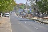 Ulice przy stadionie w Szczecinie w budowie. Po majówce utrudnienia