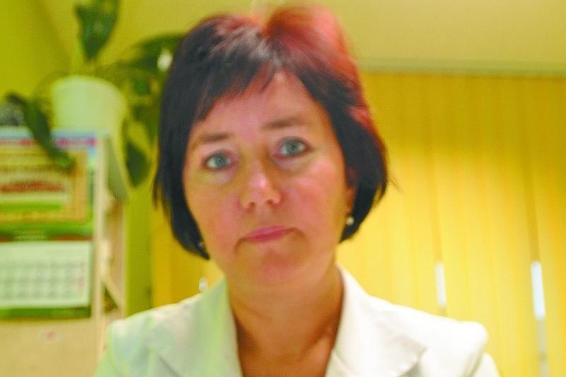 Doktor Joanna Zabielska-Cieciuch taką pieczątkę będzie stawiać na receptach