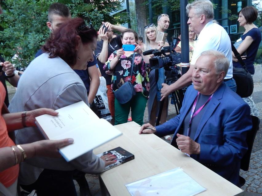 Jerzy Stuhr był gościem 3. Festiwalu Książki w Opolu.