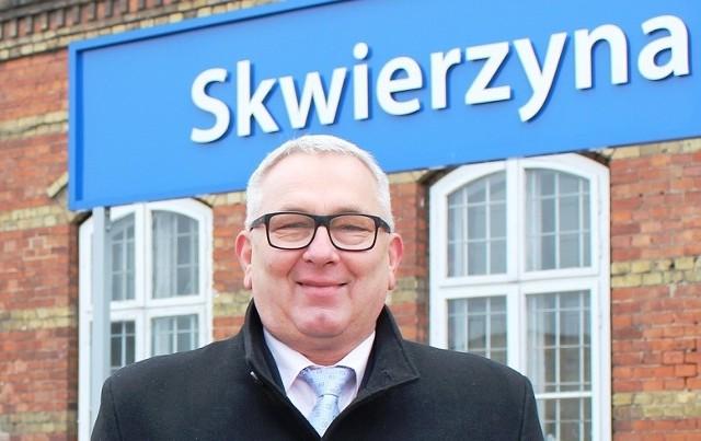 Lesław Hołownia jest burmistrzem Skwierzyny od 2014 r.