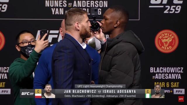 Błachowicz vs Adesanya