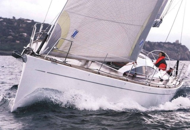 Ekskluzywne jachty  jadą z Ropczyc w światJacht z Ropczyc na pełnym morzu.