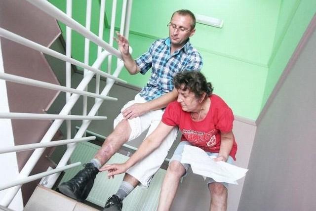 Mężczyzna płakał, bo mógł spać na ulicy. Niepełnosprawny dostanie jednak mieszkanie!Trwa remont mieszkania, które już za miesiąc otrzyma Tomasz Kuźniarek. Niepełnosprawnemu mieszkańcowi Izbicy Kujawskiej jeszcze przed miesiącem groziła bezdomność