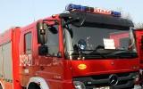 Nowy Sącz. Pożar w domu przy ul. Podgórskiej. Strażacy uratowali budynek