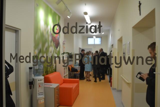 Tak wygląda nowy oddział w Dolnośląskim Centrum Onkologii.
