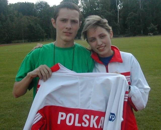 Katarzyna i Darek Uzar - reprezentanci Polski w Indiach.
