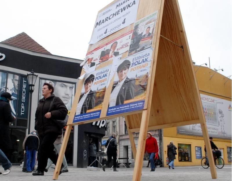 Plakaty Wyborcze Wrócą Na Ulice Zielonej Góry Gazeta Lubuska