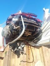 Wypadki w Tomaszowie. Kierowcy wjechali w ogrodzenia [ZDJĘCIA]