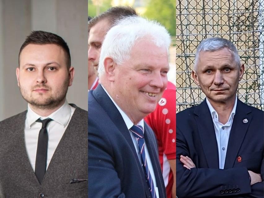 Na zdjęciu, od lewej: Arkadiusz Kozłowski, Zbigniew Bartnik...