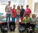 Opolskie czworaczki opuściły szpital - Maja, Wiktoria, Julia i Olivia pojechały do domu, do Kadłuba