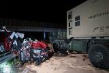 Anakonda 2016. Tragedia na A18: auto uderzyło w pojazd wojskowy