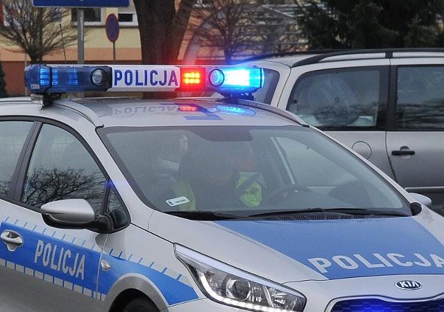 Do potrącenia 59-letniej rowerzystki doszło na ul. Drzewickiej w Kostrzynie nad Odrą.