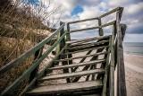 Władysławowo walczy ze skutkami sztormów. Za 900 tys. w Chłapowie odbudują schody na plażę [WIDEO]