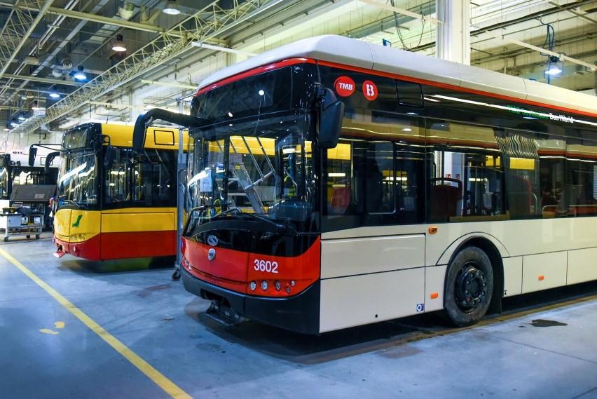 Hybrydowe autobusy komunikacji miejskiej w Pabianicach