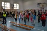 Włoszczowscy policjanci w szkole w Bebelnie. Nawet dyrektor został odpytany z przepisów ruchu drogowego (ZDJĘCIA)