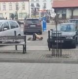 Świecianin, który wąchał klej i lizał płyty chodnikowe zatrzymany. Grozi mu 12 lat więzienia za rozbój