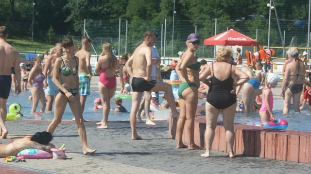 Basen Bugla w Katowicach w poniedziałek 31 lipca.