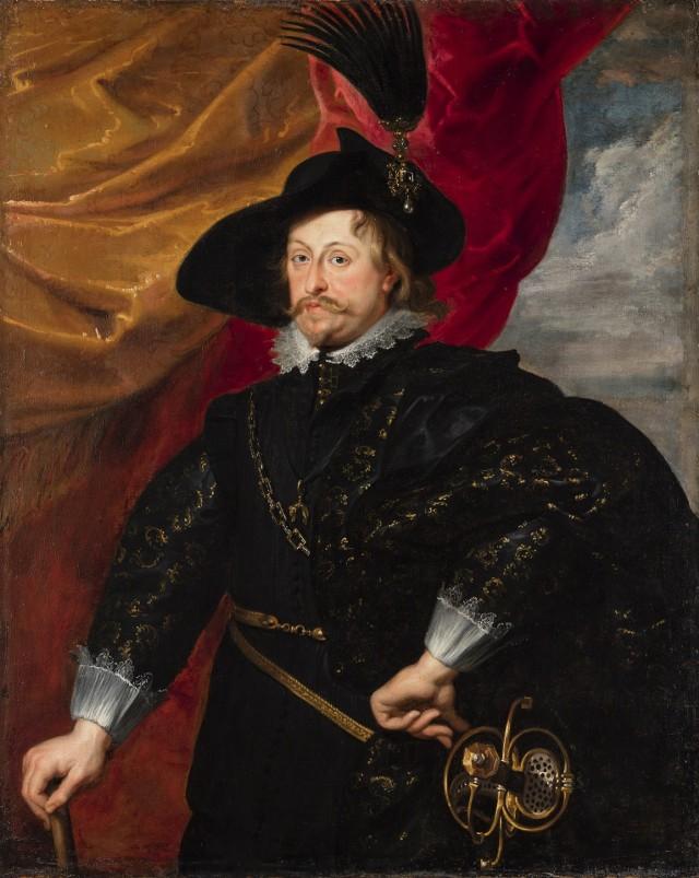 Portret królewicza Władysława Wazy, dar MOMA z Nowego Jorku dla Muzeum na Wawelu. Na wystawie w toruńskim Ratuszu Staromiejskim