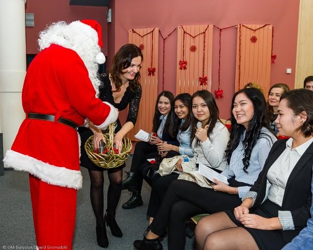 Prezydent Białegostoku złożył zagranicznym studentom życzenia