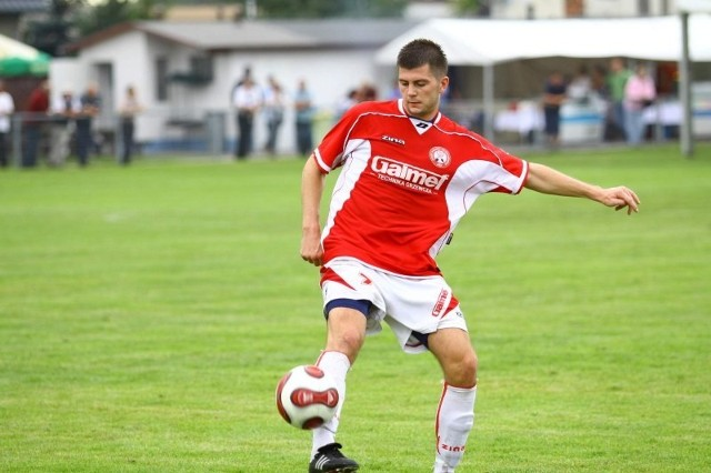 Arkadiusz Lalko ma pokazać swoje umiejętności w meczu z Piastem Gliwice.