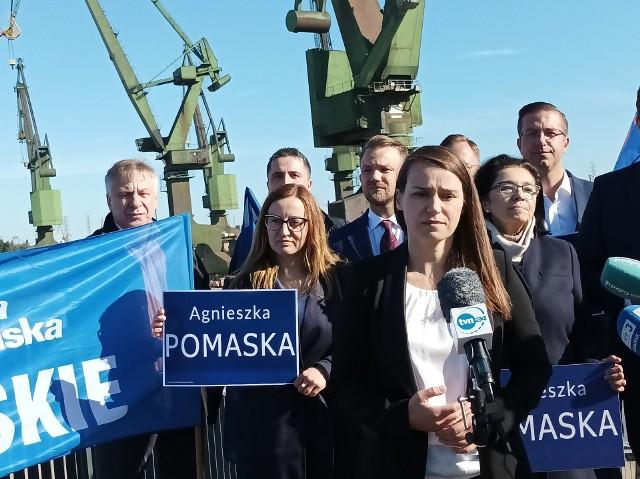 Agnieszka Pomaska, posłanka Platformy Obywatelskiej kandydatką na przewodniczącą PO na Pomorzu