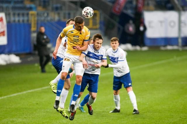 Biało-Niebiescy nie przegrali od pięciu spotkań. Oby dobrą passę podtrzymali w Ostródzie