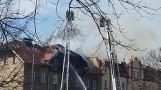 Tragiczny pożar w budynku wielorodzinnym. Nie żyje jedna osoba